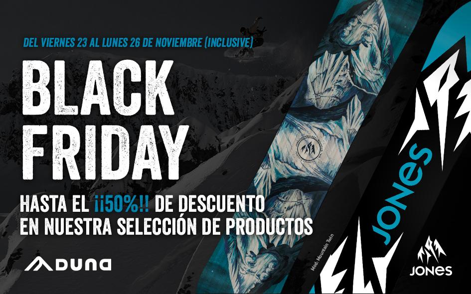 BLACK FRIDAY: HASTA EL 50% DE DESCUENTO EN NUESTRA SELECCIÓN DE PRODUCTOS
